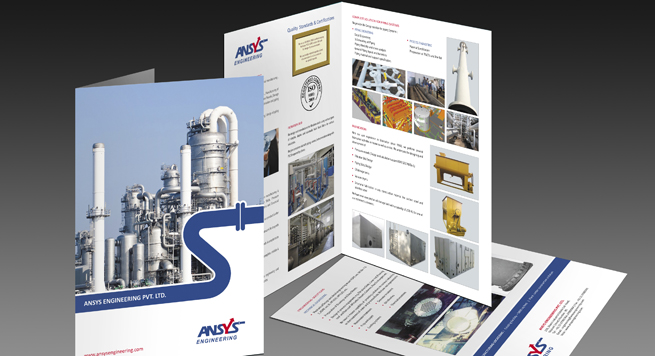 Ansys Engineering Pvt. Ltd. One Fold Brochure