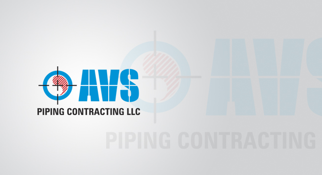 AVS Piping Logo Design