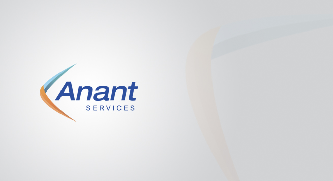 Anant Services Logo Design