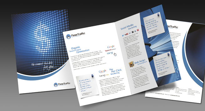 Page Traffic One Fold Brochure