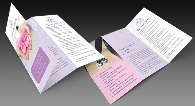Fit For Birth Two Fold Brochure