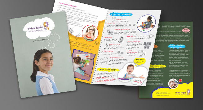 Think Right One Fold Brochure