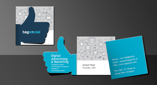 Tag Social Business Card