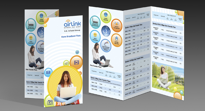 Airlink Communications Pvt. Ltd. Two Fold Brochure