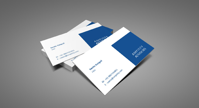 Ampitity Advisor Business card