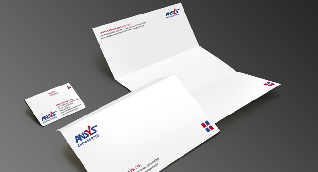 Ansys Engineers Pvt. Ltd. Stationery Set