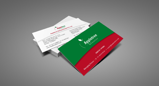 Appletree Nutraceuticals Pvt Ltd Business card