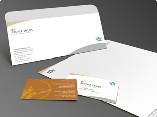 Portfolio For Business Card Letterhead Envelope
