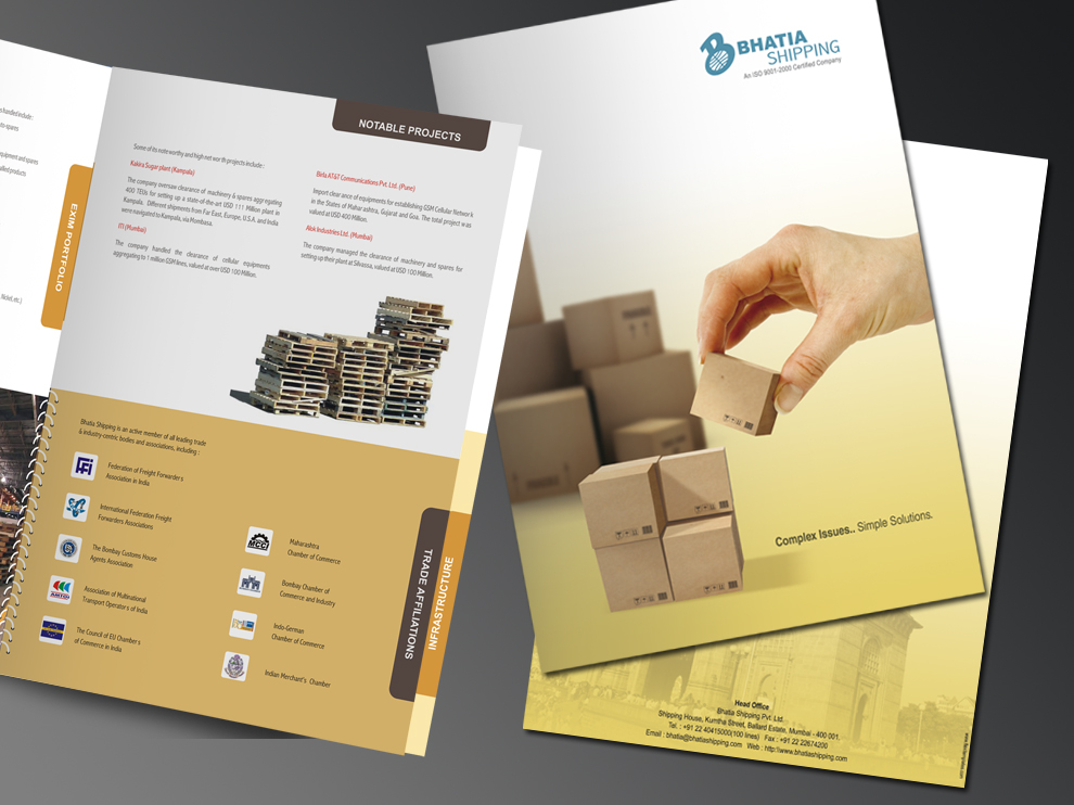 Bhatia Shipping Pvt. Ltd. Booklet