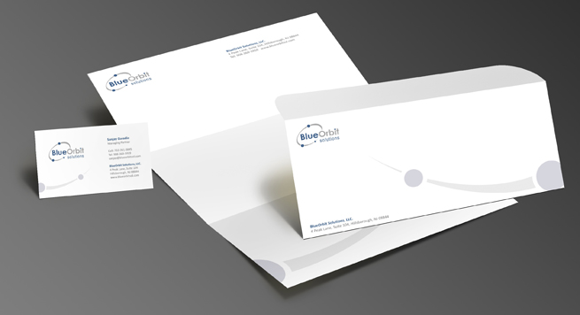 Blue Orbit Solution Stationery Set
