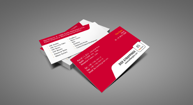Box Strappings Business card