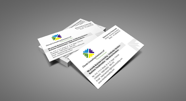 Chords Consulting Solutions Business card