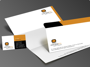 Online Corporate Identity printing, Upload or use free