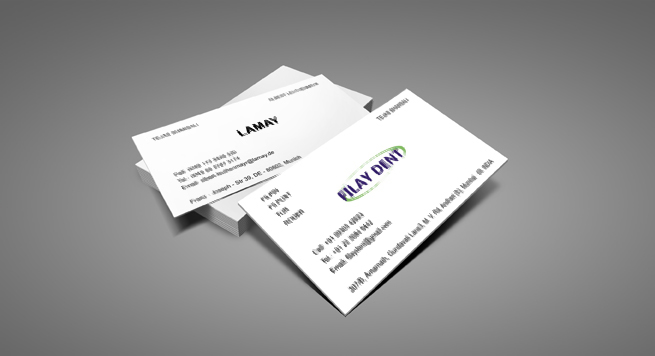 Filay Dent Business card