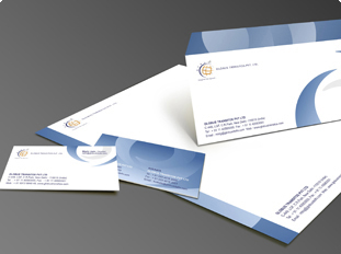 Portfolio for business card letterhead envelope brochure design globus transitos pvt ltd reheart Gallery