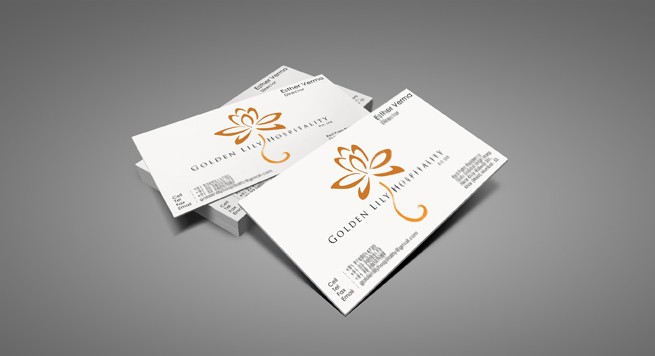 Golden Lily Hospitality Pvt Ltd Business card