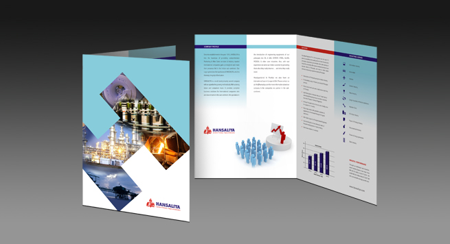 Hansalia Engineers Pvt. Ltd. One Fold Brochure