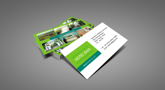 Hotel Rahi Business card