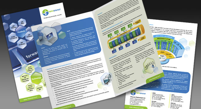 Infosavant Technologies Ltd. One Fold Brochure