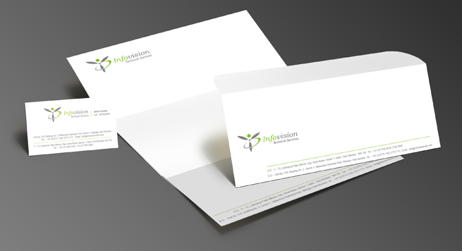 Infovision Technical Services Corporate identity