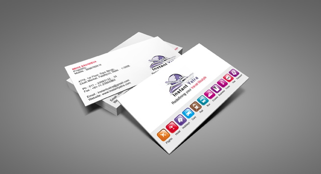 Instant Yatra Pvt Ltd Business Card