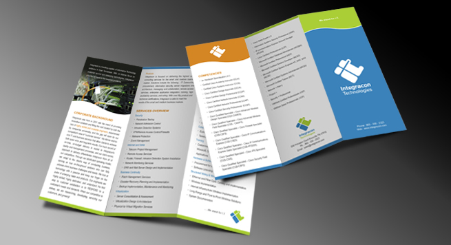 Integrecon Technologies Two Fold Brochure