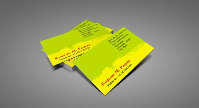 Kusum M Pawar Business card
