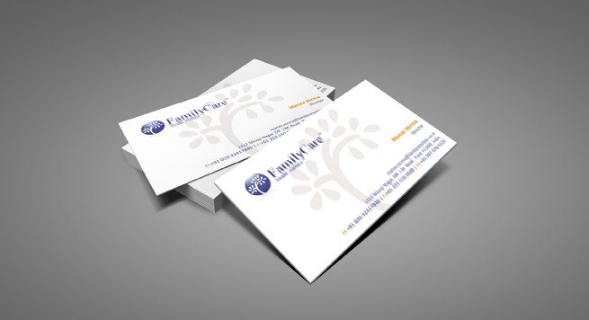 Family Care Business card