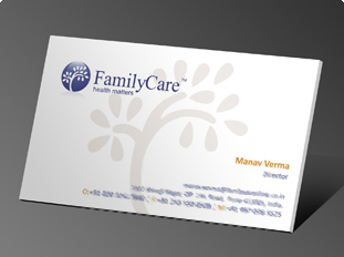 Online business card printing upload or use free business card family care reheart