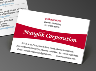 Online business card printing upload or use free business card manglik coporation reheart Images