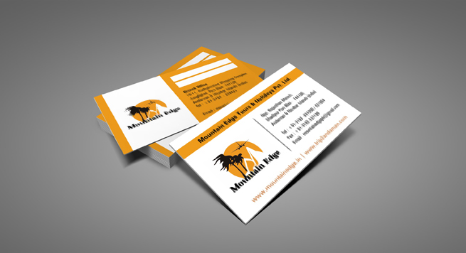 Mountain Edge Business card