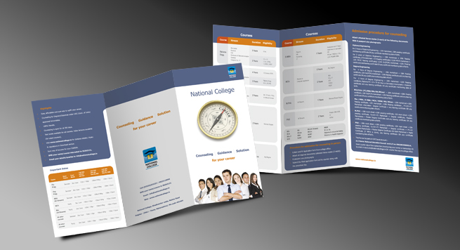 National College Two Fold Brochure