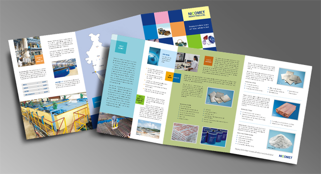 Nicomet Industries Limited Two Fold Brochure
