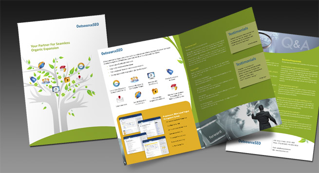 Outsource SEO One Fold Brochure