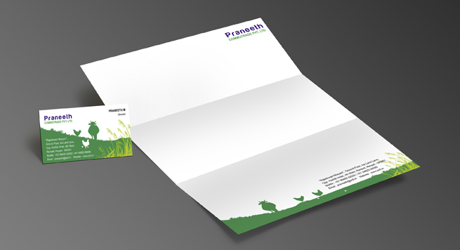 Praneeth Commodities Pvt. Ltd. Stationery Set