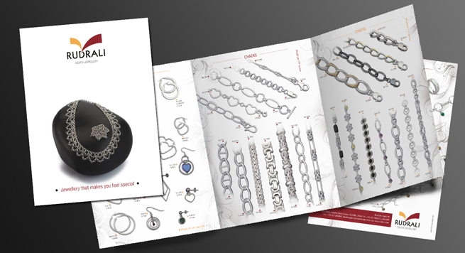 Product Catalogue Design For  Sterling Silver Jewellery Makers
