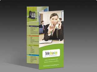 Telechoice  Two Fold Brochure
